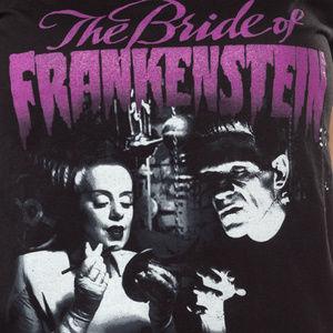 Tops - Bride of Frankenstein Womens T-Shirt - M